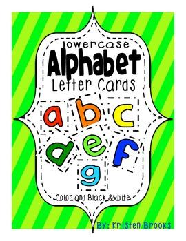 Alphabet Letter Cards (lowercase)