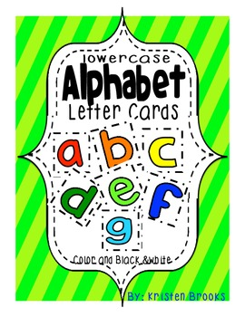 Alphabet Letter Cards (lowercase)