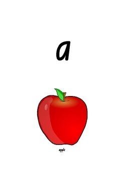 Alphabet Letter Cards to Teach Letter Sounds