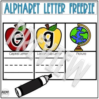 Alphabet Letter Centers FREEBIE