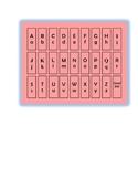 Alphabet Letter Chart
