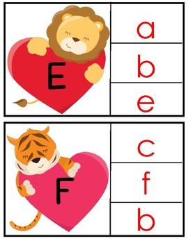 Alphabet Letter Clip Cards