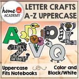 Alphabet Crafts Uppercase (Coronavirus Distance Learning)