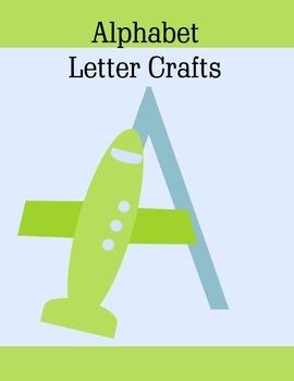 Alphabet Letter Crafts