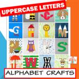 Alphabet Letter Crafts (Uppercase Letter Crafts) BUNDLE