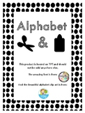 Alphabet Letter Cut and paste