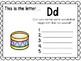 Alphabet Letter Dd Interactive Power Point. Kindergarten