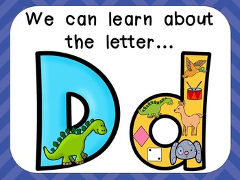 Alphabet Letter Dd PowerPoint Presentation- Letter ID, Sounds, and Handwriting