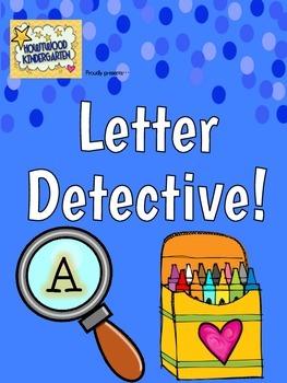 Alphabet Letter Detective