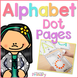Alphabet Letter Dot Pages    Distance Learning