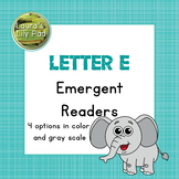 Alphabet Letter E Emergent Readers Set