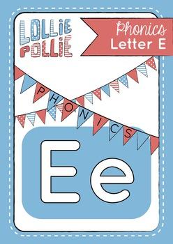 Alphabet Letter E Pack