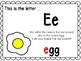 Alphabet Letter Ee Interactive Power Point. Kindergarten