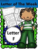 Alphabet Letter F! (10 Letter Recognition/Sound Activites) for the Letter F