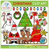 Christmas Set Clip Art