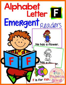 Alphabet Letter F Emergent Readers