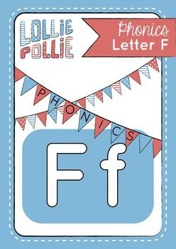 Alphabet Letter F Pack