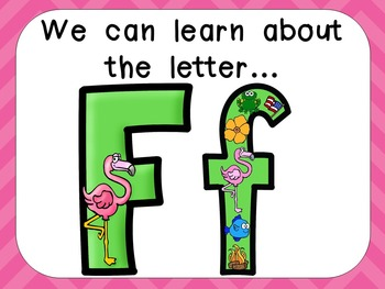 Alphabet Letter Ff PowerPoint Presentation- Letter ID, Sounds, and Handwriting
