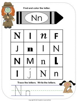 Alphabet Letter Find