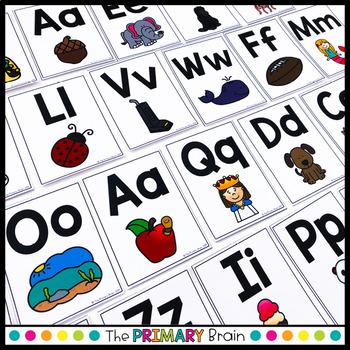 Alphabet Letter Flash Cards