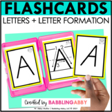 Alphabet Letter and Picture Flashcards