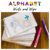 Alphabet Write and Wipe - Letter Formation Literacy Center
