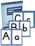 Alphabet Letter Formation Cards - PRINTABLE {COLOR+BW}
