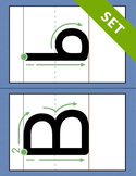 Alphabet Letter Formation Cards - PRINTABLE {COLOR}