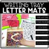 Alphabet Letter Formation Mats for Salt and Sand Writing T