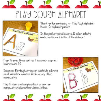Alphabet Letter Formation Mats