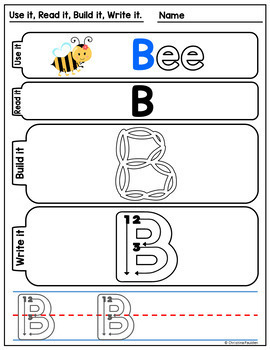 Letter Formation Mats Uppercase Free