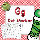 Alphabet Letter G Dot Marker Center