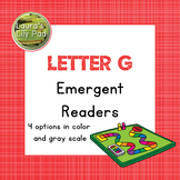 Alphabet Letter G Emergent Readers Set