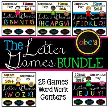 Alphabet Games:  Beginning Sounds and Matching
