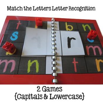 Alphabet Letter Games Word Work SET 5 {5 GAMES}