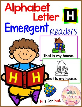 Alphabet Letter H Emergent Readers