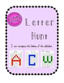 Alphabet Letter Hunt A-Z