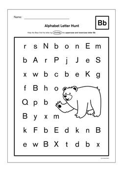 Alphabet Learning Sheet (ABC) - Lite version