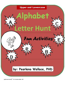 Alphabet:  Letter Hunt Activities - Upper and Lower Case Letters