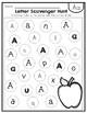 Alphabet Letter Hunt. Centers. Find the Letter. Kindergarten. Letter Recognition