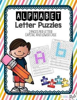 Alphabet Letter Hunt Puzzle