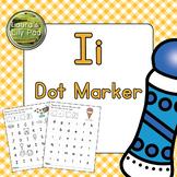 Alphabet Letter I Dot Marker Center