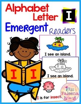 Alphabet Letter I Emergent Readers