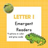 Alphabet Letter I Emergent Readers Set