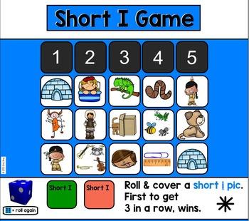 Alphabet -- Letter I SMARTboard Activities (Smart Board)