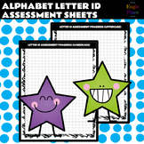 Alphabet Letter ID Assessment / Progress Sheets