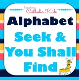 """Alphabet Letter Identification and Animal """"Spot It"""" Game!"""