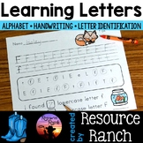 Alphabet Letter Identification and Handwriting Worksheets