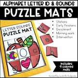 Alphabet Letter Identification and Sounds | Puzzle Mats