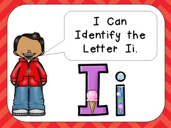 Alphabet Letter Ii PowerPoint Presentation- Letter ID, Sounds, and Handwriting